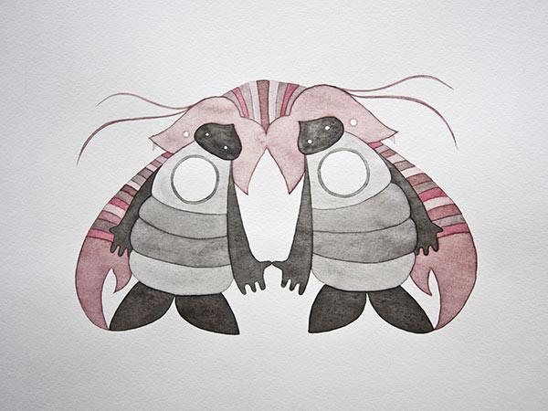 Rorschach Studie #4, 2011