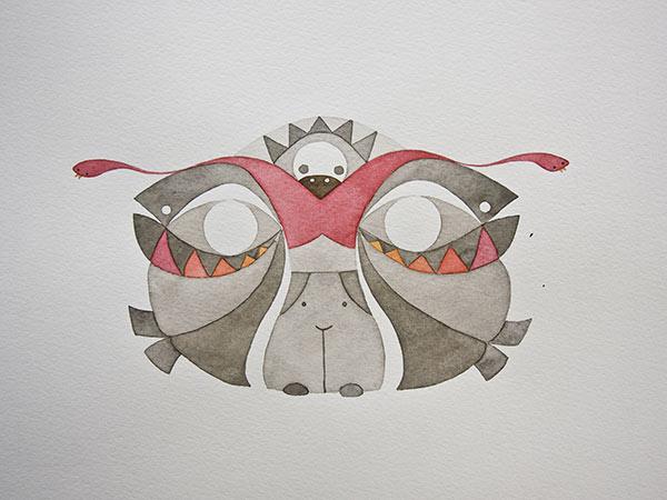 Rorschach Studie #6, 2011
