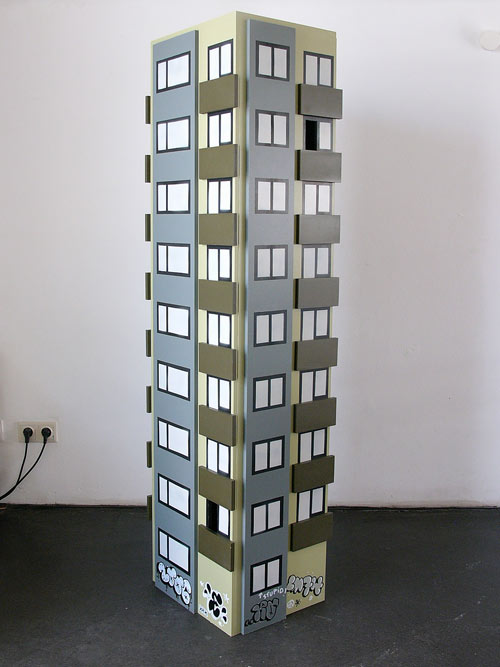 Vogelhochaus (Towerblock For Birds), 2006